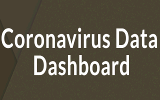 Coronavirus Data Dashboard Button